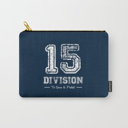 Rookie Blue - 15 Division Carry-All Pouch