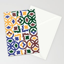 Andalusian Tiles 3 Stationery Cards