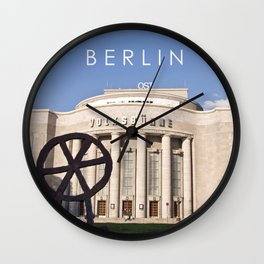 BERLIN OST - VOLKSBÜHNE - Theatre Wall Clock