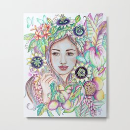 Obsessed with Lilikois Metal Print