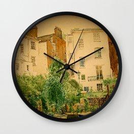 Regents Canal Wall Clock