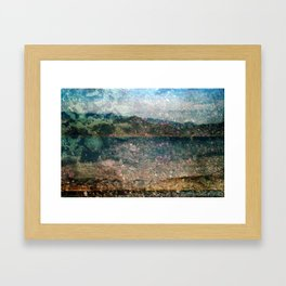 MM 333 . Purple x Mountain Scapes Framed Art Print
