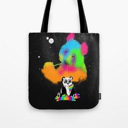 Technocolored Dreams Tote Bag