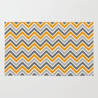 chevron Area & Throw Rugs featuring Chevron by eARTh