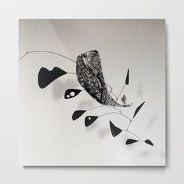 Simplicity Calder Whale Metal Print