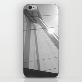 Bridge in Ludwigshafen, Germany. iPhone Skin