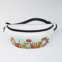 The Vector Cats Fanny Pack