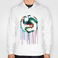 world cup Hoodies featuring Bleed World Cup by DesignYourLife