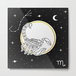 Scorpio [Horoscope Collection] Metal Print