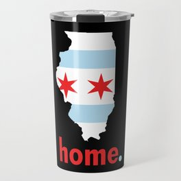 Illinois Proud Travel Mug