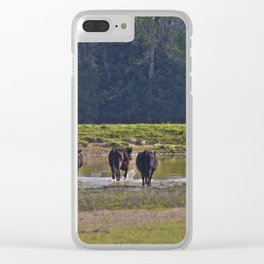 Cattle Clear iPhone Case
