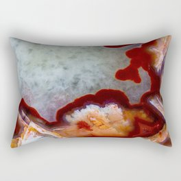 Condor Agate Sagenite Rectangular Pillow