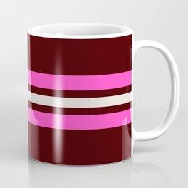 Amanojaku - Classic Vintage Style Retro Stripes Coffee Mug
