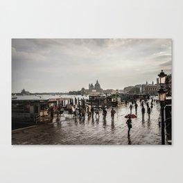 Venezia after a shower Canvas Print