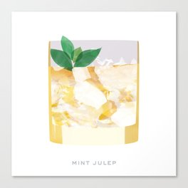 Cocktail Hour: Mint Julep Canvas Print