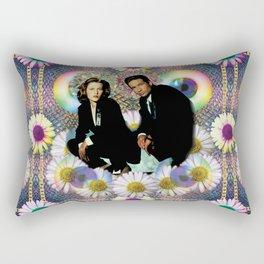 reptile muldo and skuul Rectangular Pillow