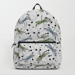 Dragonflies in the garden Backpack