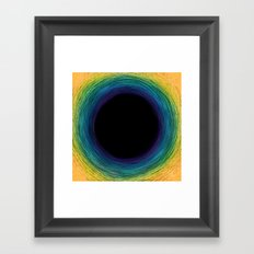 Absence - Illustration Framed Art Print