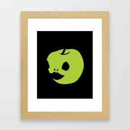 Apple jocker Framed Art Print