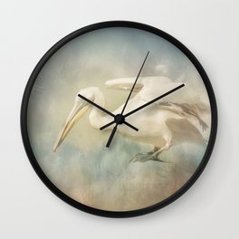 Fly Pelican Wall Clock