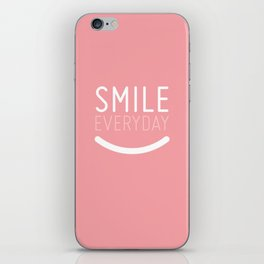 Smile Everyday iPhone Skin
