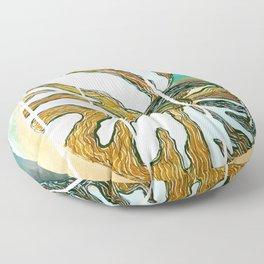 Oceana Chambered Nautilus-Barbara Chichester  Floor Pillow