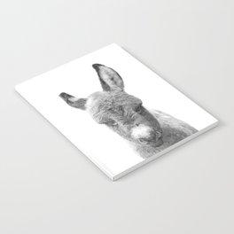 Black and White Baby Donkey Notebook