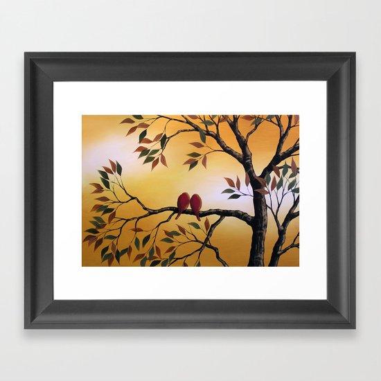 In the Sun Framed Art Print