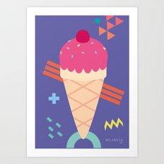 Ice Cream II Art Print