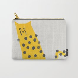 Speedy Cheetah Carry-All Pouch