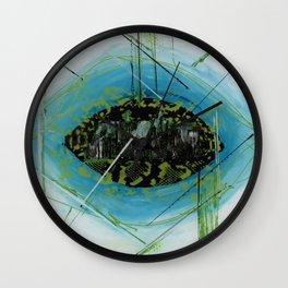 Eye of the city Wall Clock