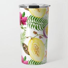 Fruits and Flowers Travel Mug