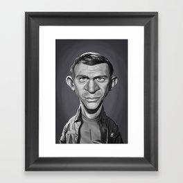 Steve McQueen Framed Art Print