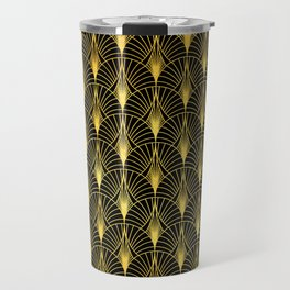 Berlin Art Deco Ornate Pattern Travel Mug