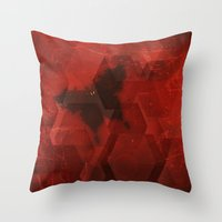 sandman Throw Pillows featuring Welcome the Sandman by Scott Mitchell Photography