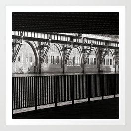 Jannowitzbruecke - Berlin - B&W Art Print