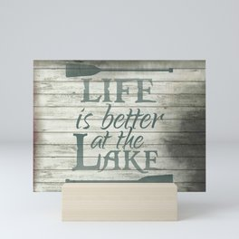 Lake Life Mini Art Print