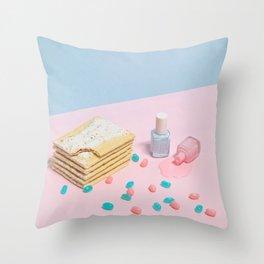 Spilled the Beans Throw Pillow