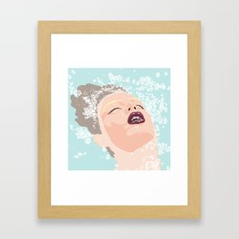 Braces Framed Art Print
