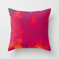 Red as Passion Throw Pillow