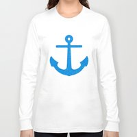 sail Long Sleeve T-shirts featuring Sail by M Studio