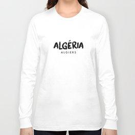 Algiers x Algeria Long Sleeve T-shirt