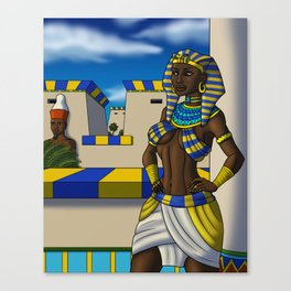 Lady of the Two Lands Canvas Print
