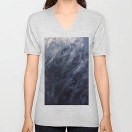 Blue Clouds, Blue Moon Unisex V-Neck