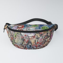 The rise of the continents Fanny Pack