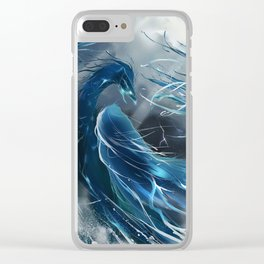 Halcyon rising Clear iPhone Case