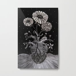 Flowers From Within. Metal Print