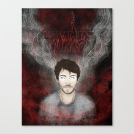 Will Graham - Tightrope in the Darkness Canvas Print