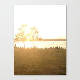 """Sun on the Bayou """"the fly' Canvas Print"""