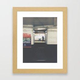 city hall/bsl Framed Art Print